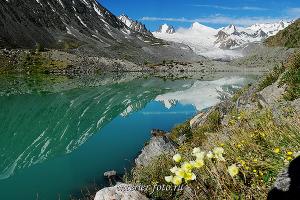 Озеро в верховьях Аккола
