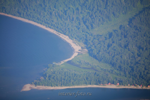 Карагай с горы Алтын-Туу - Телецкое озеро