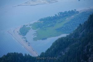 Кырсай с горы Алтын-Туу - Телецкое озеро