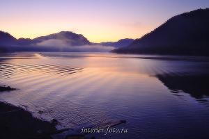 Телецкое озеро в Артыбаше. Утро