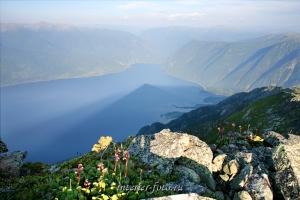 Телецкое озеро с Алтынту