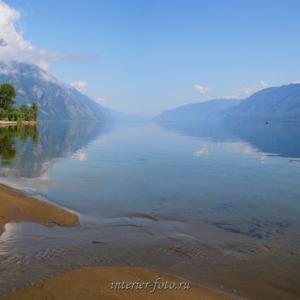 Квадратные фотографии Телецкое озеро