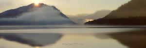 Телецкое озеро в Артыбаше утром