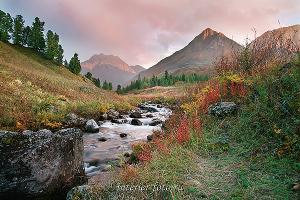 Осень на Большом Кокколе - Восточный Казахстан