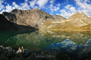 Утро на Кубадринском озере