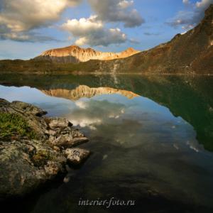 Кубадринское озеро вечером