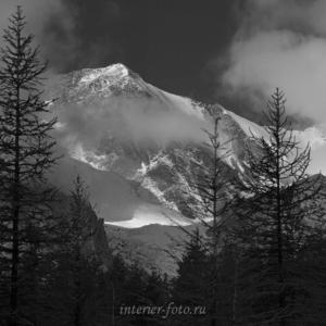 Фото пейзаж Вершины ущелья Актру
