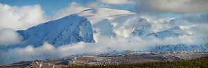 Гора Монгун-Тайга в Туве