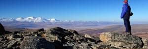Над плато Укок, Алтай