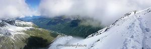 Пейзаж фото На перевале Каратюрек