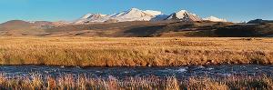 Табын-Богдо-Ола с реки Кара-Чад на плато Укок