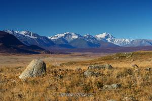 Вершины Южного Алтая во главе с горой Джагыртау