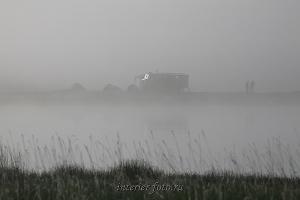 Туманным утром на Укоке