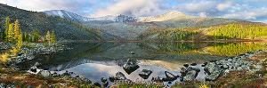 Стоктышское озеро в Саянах
