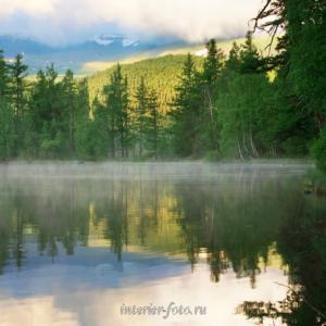 Священное озеро Ару-Кем в парке Уч-Энмек