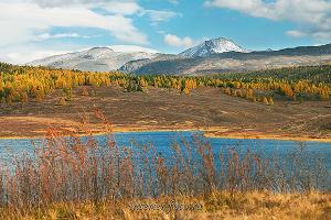 Озеро на Улаганском плато