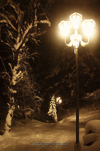 Виды пейзажа Зима в Белокурихе