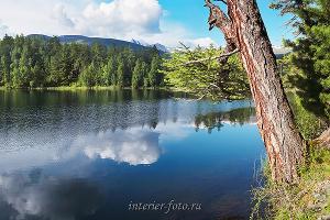Озеро Ару-Кем в природном парке Уч-Энмек