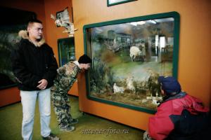 В Баян-Ульгийском музее - Монголия