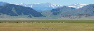 Бащелакский хребет перед Усть-Каном