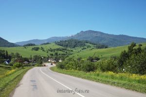 Гора Бутачиха с дороги