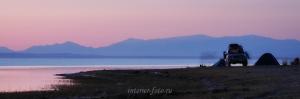 Стоим на озере Хар-Ус-Нуур - Монгольский Алтай