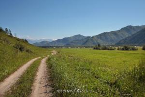 В сторону Кайтанака с дороги к Кайтанакскому перевалу