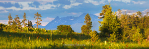 Закатный свет на Кайтанакском перевале
