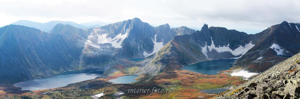 Золотая долина сверху - Кузнецкий Алатау