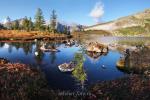 Озеро Круглое в Золотой долине - Кузнецкий Алатау