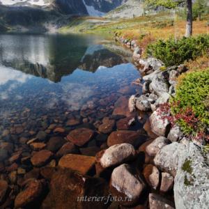 Прозрачные воды озера Харлыгхоль