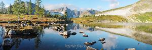 Фотографии на стену Утро на озере Круглом в Золотой долине