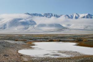 Гора Сайр в Монгольском Алтае