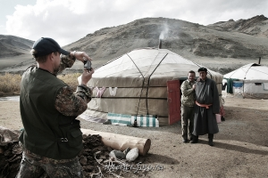 Тувинцы в Монголии
