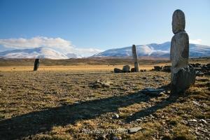 Каменные изваяния Монголии