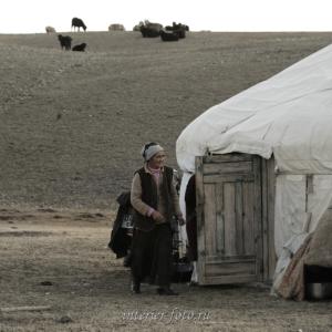 Проезжая мимо юрты - Монголия