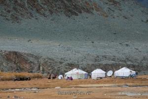 Юрты в Монголии
