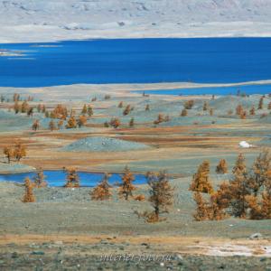 Озеро Хурган в Монголии