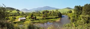 Река Ануй с дороги в Усть-Кан
