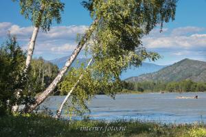 Река Катунь недалеко от Кайтанака