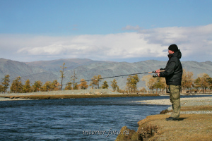Рыбалка на реке Ховд - Монголия