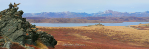 Над озером Хиндиктиг-Холь - Тыва