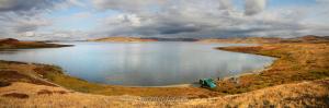 Озеро Хиндиктиг-Холь в Туве