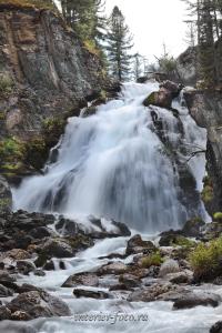 Водопад на Большом Кулагаше