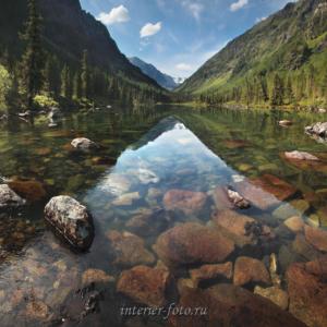 Второе озеро на Большом Кулагаше