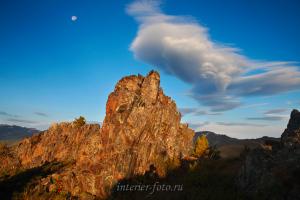 Утренние виды - Катунский хребет