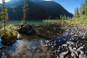 Нижнее озеро на Малом Кулагаше