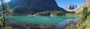 Панорама озера - Кулагаш