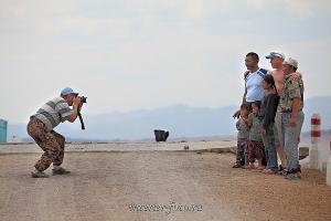 Общение с местным населением