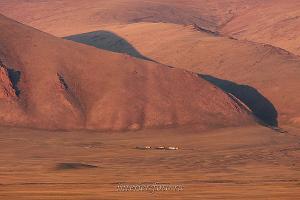 Закатный свет. Монголия